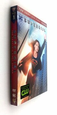 Supergirl  The Complete First Season 1 (DVD, 2016, 5-Disc Set)