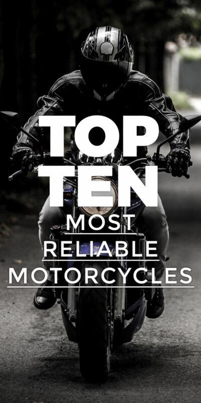 Top Ten Most Reliable Motorcycles | eBay