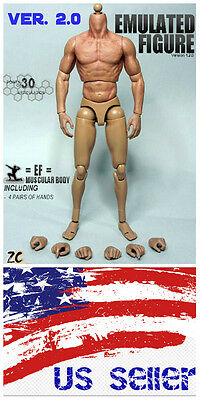 Zc Toy 1 6 Scale Muscular Nude Figure Body Ver 2 0 Ttm19 Fit Wolverine Head Usa
