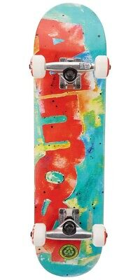 """Almost Color Bleed 7.25"""" Red/Green Youth FP MID Skateboard Complete  Brand New!"""