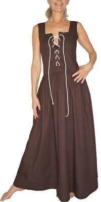 Mittelalter Kleid Kostüm DEFEKT Magd Bäuerin Celia Baumwolle Gr. 36 38 40 - Mittelalter Kostüm
