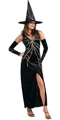 Hexenkostüm Sexy Zauberin Halloween Kostüm Hexe Faschingskostüm Gr. 38 - Sexy Zauberin Kostüm