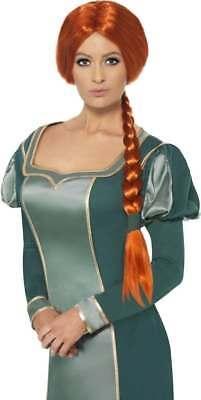 WIG FANCY DRESS (CARTOON , FILM , HALLOWEEN , ROYALTY , TV) (Shrek Halloween Cartoons)