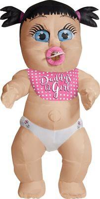 Rubies Daddy's Mädchen Aufblasbar Riese Baby Neuheit - Rubie S Kostüm Aufblasbar