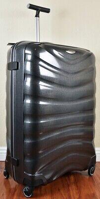 "Samsonite Firelite 81cm/30"" CHARCOAL Spinner Luggage 4-wheeled 54537-1174 Demo"