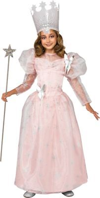 Rubies Wizard Of Oz Glinda The Good Witch Deluxe Girls Halloween Costume 886495](Glinda The Good Witch Costume Girls)