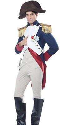 Napoleon Bonaparte Costume French Leader General Adult Mens Napolean Historic - French Men Costume