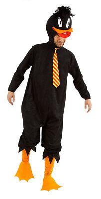 Enten  Kostüm schwarze Ente Duck   Herren Kostüm Karneval Fasching 4 teilig (Ente Kostüm Kostüm)