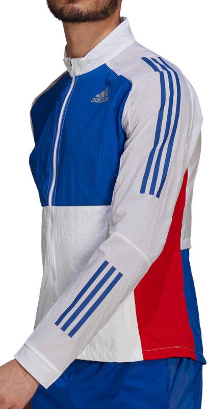 adidas Own The Run Track Mens Running Jacket - White