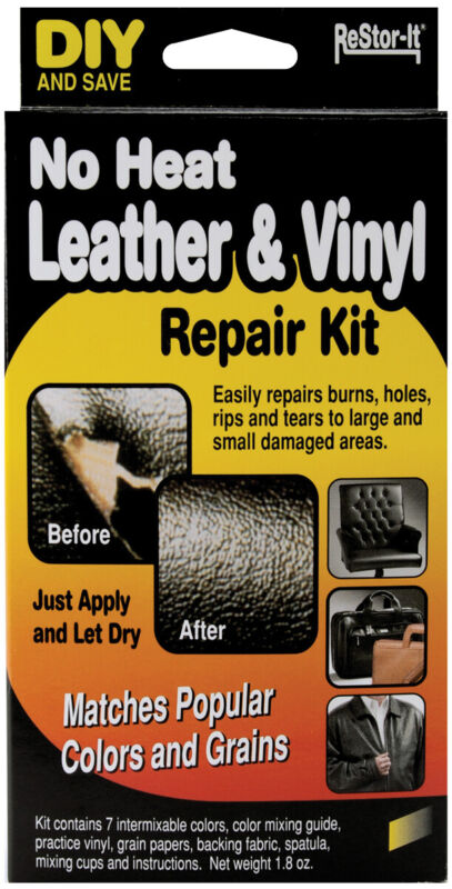 Restor-It 18073 Leather & Vinyl Repair Kit-