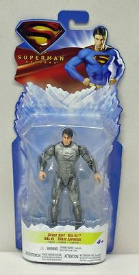Superman Returns Space Suit Kal-El Mattel NIP 5 inch 2006 - Superman Returns Suit