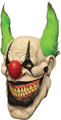 Morris Costumes Men's Halloween Latex Zippo The Clown Mask One Size. TB26499