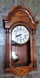 Vintage Howard Miller 613-226 Jordan - Chiming Wall Clock chime NOT WORKING