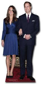 PRINCE WILLIAM KATE MIDDLETON ROYAL WEDDING 2011 CUTOUT