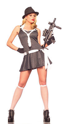 Sexy Adult Halloween Woman's Gangster Moll Doll - Gangster Moll Halloween Costumes