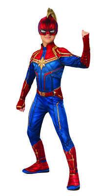 Marvel - Captain Marvel Child Superhero Costume  - Superhero Girl Costumes Kids