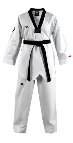 Tusah Martial Arts Uniform WTF Approved Taekwondo Dobok Premium Fighter Gi