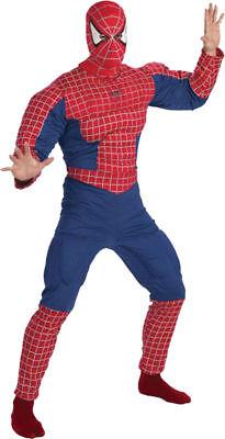 Morris Costumes Men's Superheroes & Villains Spiderman Muscle 42-46 - Spider Man Villain Costumes