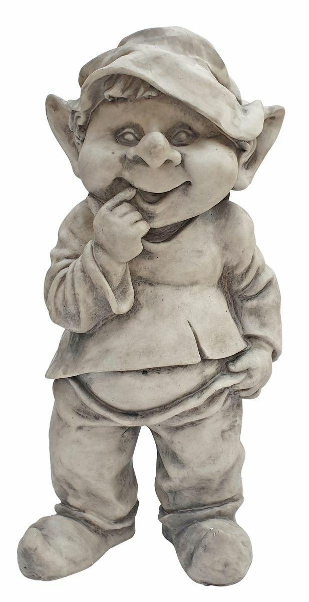 Wichtel Dekofigur lustige Gartendeko Gnom Gartenfigur Troll Zwerg Kobold