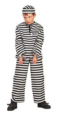 WIL - Gangster Kinder Kostüm Sträfling Karneval Fasching