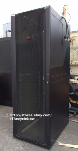 APC AR3357 48U NetShelter SX Wide & Deep Server Rack Cabinet w/ Side Panels +Key