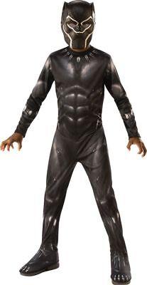 Rubies Black Panther Movie Marvel Comics Kids Childrens Halloween Costume 641046 - Film Halloween Kids
