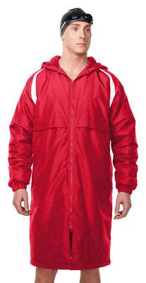 Tri-Mountain Men's Full Zip Waterproof Panels Elastic Cuffs Best Parka.
