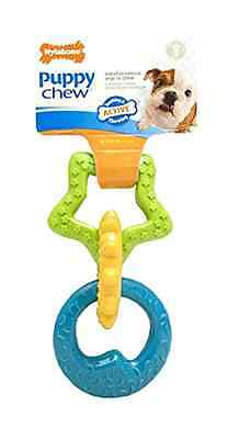 Nylabone Just For Puppies Ring Bone Puppy Dog Teething Chew Toy Pet Gift Treat