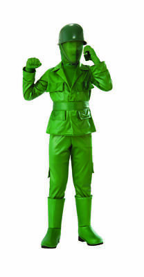 Rubies Green Army Boy Toy Soldier Military Childrens Halloween Costume 641156 - Military Halloween