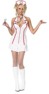 Morris Costumes Women's Nurse Head Zip Costume 2XL. - Womens Nurse Halloween Costumes