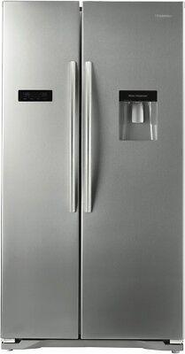 NEW Hisense HR6SBSFF610SW 610L Side By Side Refrigerator