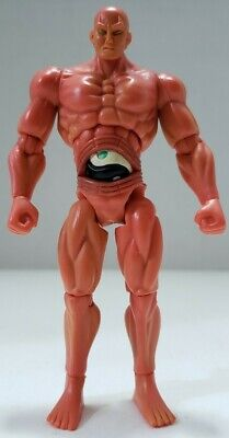 Jazwares Street Fighter Red Seth 4 Inch Articulated Action Figure Used Rare
