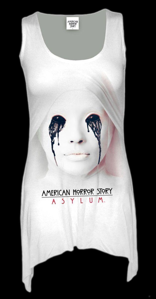 Spiral Damen Langshirt American Horror Story - Asylum - Fantasy Gothic Kleidung