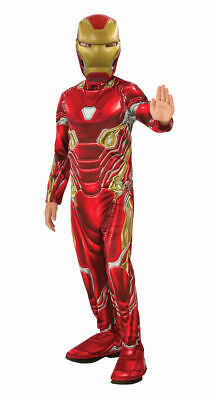 Rubies Marvel Avengers Iron Man Infinity War Childs Halloween Costume 641051 - Iron Man Halloween