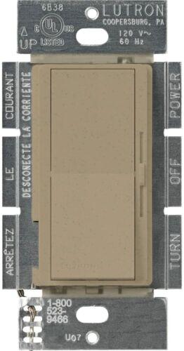 LUTRON DVSCLV-103P-LS DIVA 3-WAY MAGNETIC LOW VOLTAGE DIMMER, 800W, Mocha Stone