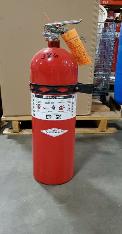 Amerex 15lb CO2 Fire Extinguisher