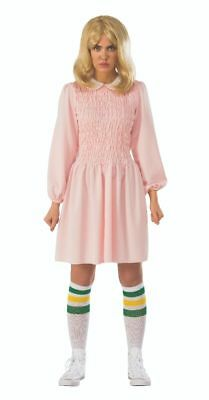 Rubies Stranger Things Eleven Replica Pink Dress Adult Halloween Costume - Replica Halloween Costumes