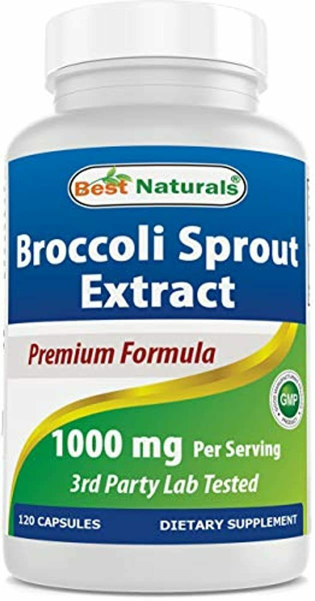 Best Naturals Broccoli Sprouts Extract 1000 mg Sulforaphane