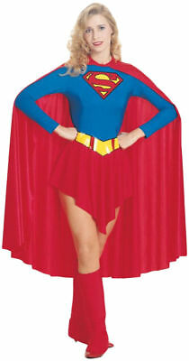 Morris Costumes Women's Superheroes & Villains Supergirl Red Blue M. - Women Villains Costumes