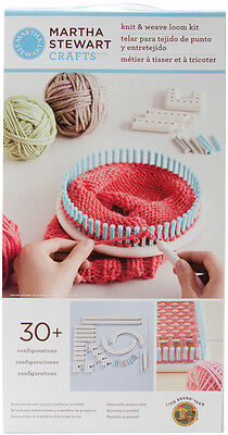 Martha Stewart Crafts Knit & Weave Loom Kit From Lion Brand