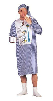 WIL - Herren Kostüm Nachthemd Schlafwandler Karneval - Nachthemd Kostüm