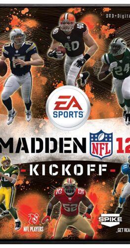 Madden 12 Kickoff DVD, Spike TV, EA Sports NFL NEW - $10.00