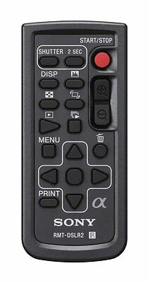 Sony RMT-DSLR2 IR-Fernbedienung für Sony SLT A Alpha + NEX ! A99 NEX6 etc.