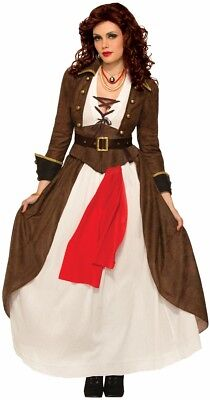 Pirate Matey (Lady Matey Pirate Wench Caribbean Buccaneer Adult Women's Costume XS-SM MD-LG)