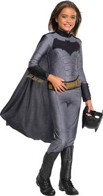 Girls Justice League Batman Costume Size Large 12-14 - Justice League Costumes For Girls