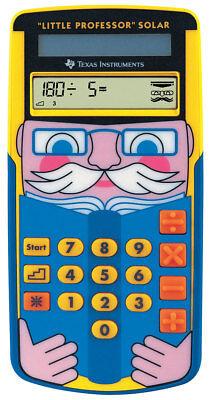 TI-Little Professor SOLAR Texas-Instruments Schulrechner - Taschenrechner (Texa Instruments Taschenrechner)
