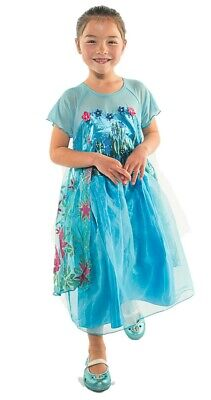 NEW INSPIRED FROZEN FEVER QUEEN ELSA BIRTHDAY PARTY DRESS Size 3/4 Anna - Queen Elsa Frozen Fever