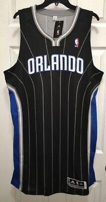 ADIDAS Orlando Magic Black Swingman Twill Basketball Jersey Tall Men 2X 3X 4X 5X