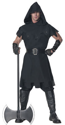 Morris Costumes Men's Execution Medieval Halloween Costume Black 2XL. UR28290XXL