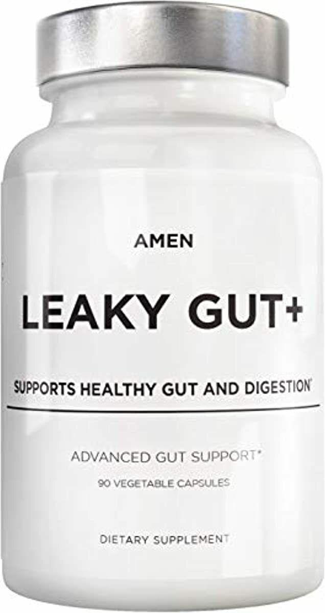 Amen Leaky Gut Supplements - Advanced Formula with Bioavaila